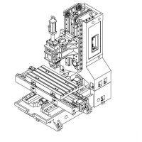 台正立式加工中心L850C三线轨光机