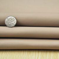 1.0mm厚米白色平纹牛皮 头层 柔软纳帕纹牛皮 真皮皮料 箱包用真牛皮革