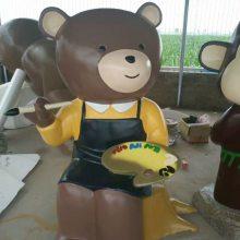 天线宝宝雕塑厂家树脂彩绘天线宝宝摆件四川玻璃钢天线宝宝杭州雕塑
