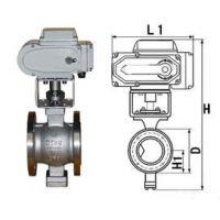 蒸汽电动平焊球阀安装专业的