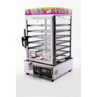 厂家直销优质的便利店设备与全家便利店同款6层电子式蒸包机