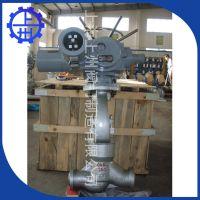 J961焊接式碳钢高温高压电站专用电动截止阀 上海上州阀门