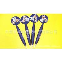 翔驰现模供应时尚书写笔 PVC软胶多功能磁贴手写笔 可定制LOGO
