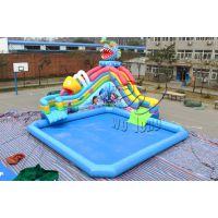 卧龙厂家直销适合儿童戏水乐园设施长方形充气水池价格