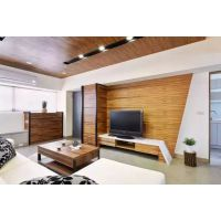 广州泥巴公社装饰超强空间感美居设计66平老房翻新装修实景案例