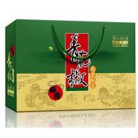 汉源花椒包装定做/青花椒包装纸盒定制/成都花椒油礼盒包装厂