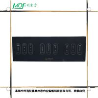 mouton 哈尔滨超越智能无线触摸遥控开关220v三路灯具插座面板手机远程86型穿墙