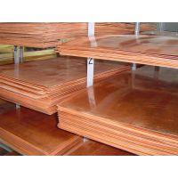 广东铜板厂家 高纯1.0*600*1500MM超薄紫铜板T2拉丝紫铜板价格