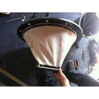 厂家加工定做博泰牌风机耐高温帆布软连接,帆布伸缩软连接供应