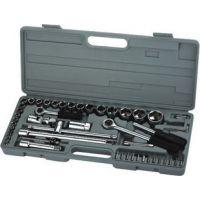 52件套筒组合工具汽修工具套筒扳手机修组套 套筒 批发五金工具