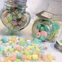 Candy Lane澳洲进口手工糖果定制 创意水果口味硬糖 70g爱心瓶装