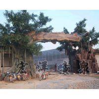 保定塑树制作——宏洋喷泉
