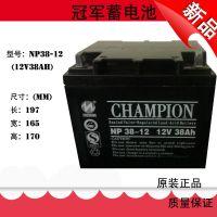 原装蓄电池NP38-12 蓄电池12V38AH 铅酸免维护UPS蓄电池