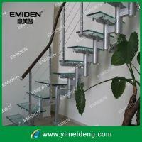 供应炮筒楼梯/玻璃踏板楼梯YMD-0728