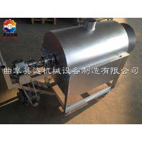 电加热不锈钢滚筒炒锅炒货机 *//*自动出锅炒货机、小型翻炒机