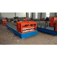 彩钢瓦设备厂家800型竹节琉璃瓦成型机华浩压型设备