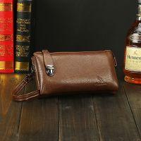 2015新款首发男式手包 正品袋鼠牛皮手拿包 商务手抓包 男钱包cg