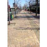 混凝土压花2105贵州道路专业 压花地坪