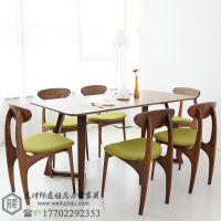 天津餐桌椅板式餐桌椅