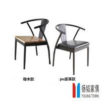 【扬韬供应】美式复古铁艺吧台椅子客厅餐椅靠背仿古做旧时尚可订做咖啡桌椅
