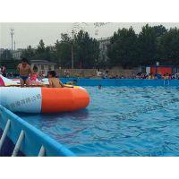 水上游乐行业的新兴项目移动水上乐园