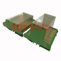 PCB支架导轨 JUM72挤压型条 线路板安装槽 导轨支架 厂家直销深圳华强赛格电子市场专卖店
