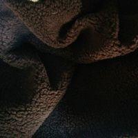 厂家直销纬编涤纶96F 羊羔绒服装用布