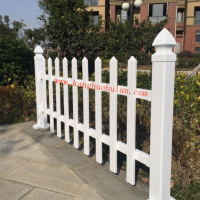 pvc塑钢护栏花园围 别墅栏杆庭院栅栏 60*22型 厂家直销欧式护栏