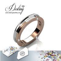 戴思妮 时尚个性欧美戒指 采用施华洛世奇元素 水晶戒指 女士饰品 厂家直销