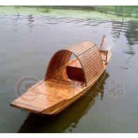 上海木船厂出售款手划船 观光旅游船 乌篷船 景观装饰船 服务类船
