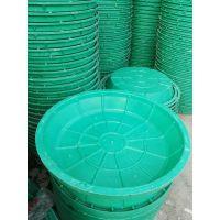 供应重庆种植树脂复合圆形草盆井盖 SMC纯树脂复合方形草坪井盖