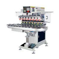 金华市移印机厂家东莞优彩300P八色全自动穿梭移印机