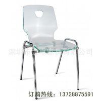 深圳厂家直销PC水晶椅 透明餐椅 亚克力塑胶椅