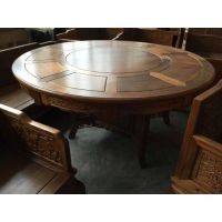 供应成都餐厅中式餐桌餐椅 酒店古典家具 别墅仿古家具