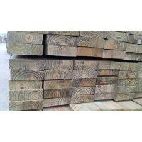 美国南方松特级无节材 深度防腐碳化木 户外地板