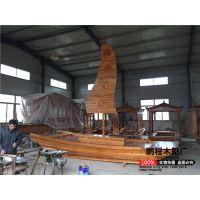 帆船装饰木船/欧式景观小木船/可定制工艺船/特殊船