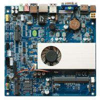 研凌YL-4200AC 超薄迷你itx主板 适用工业迷你电脑 SIM卡主板CPU带风扇 厂家直销