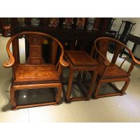 名琢世家刺猬紫檀客厅精品皇宫椅价格