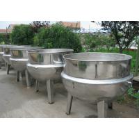 猪蹄猪头可倾蒸汽夹层锅 食品厂专用肉制品煮锅