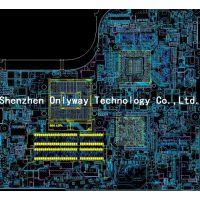 DDR4服务器PCB设计,pcb layout,pcb 画板,线路板设计外包
