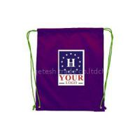 Custom Printing Polyester Drawstring Plastic Bag For Wholesale