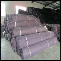 江西厂家供应公路桥梁养护用黑心棉 养护毯 加厚保温棉毡