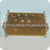 厂家直销亚克力抽纸盒、KTV专业纸盒、高档有机玻璃纸巾盒