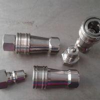 天津滚珠式304不锈钢KZF开闭式液压快速接头 开闭式液压快速接头内丝3/8寸的多少钱