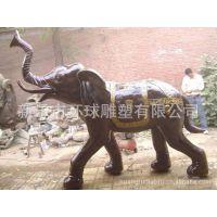 山西环球专业制作铜雕塑 铜雕动物 铜雕大象,开荒牛,奔马,野驴