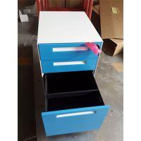 河南联华专业定做钢制彩色三抽活动柜