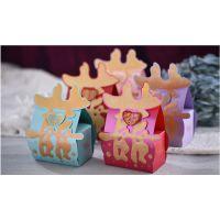 喜盈门新款喜糖盒/纸质喜糖包装盒/喜气盈门糖果盒可装烟TH-0015
