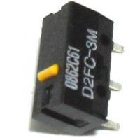 供应欧姆龙 黄点按键微动开关(D2FC-3M)
