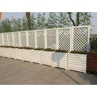 马路花箱市政景观绿化栏杆道路隔离带南京PVC微发泡户外园林花箱