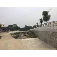 郑州天艺公司供应扇形河道护栏/桥梁河道护栏/景观河道护栏/仿石栏杆/河道水泥栏杆